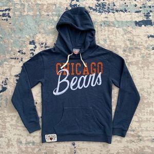 Junk Food Hoodie Sweatshirt Chicago Bears NFL New